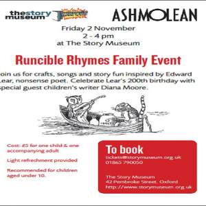 Story Museum ~ Runcible Rhymes Family Event